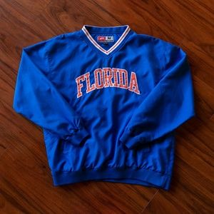 Vintage Jackets & Coats - Vintage University of Florida Pullover Windbreaker
